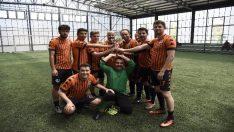 Personel Halı Saha Futbol Turnuvası'nda gülen taraf Havacılık takımı oldu