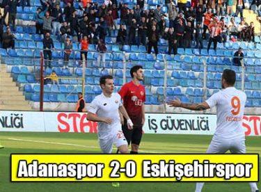 Eskişehir-Adanaspor Maç Detayları