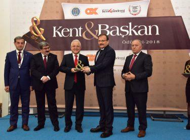 Kent Başkan Dergisi ödül töreni Bilecik'te düzenlendi