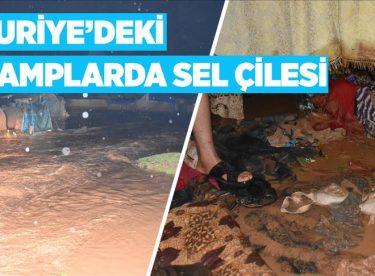 Suriye'de 25 bin sivil çadırsız kaldı