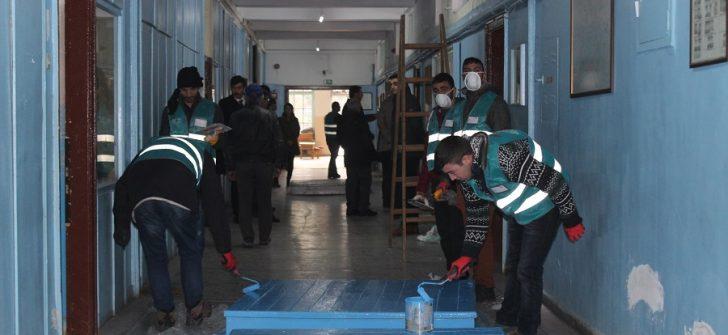 Eskişehir'de mahkumlar eğitim için çalıştı