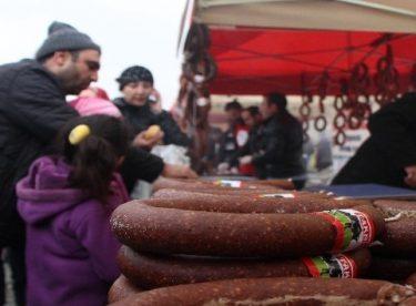 Sivrihisar Sucuk Festivali'nde karnaval havası