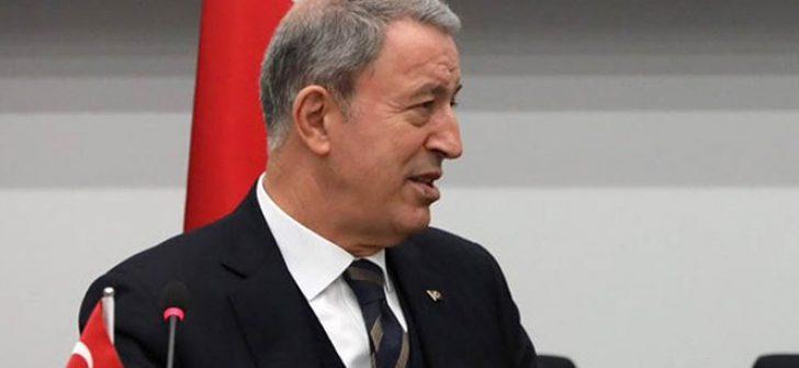 Bakan Akar: 'PKK, PYD, YPG aynıdır'
