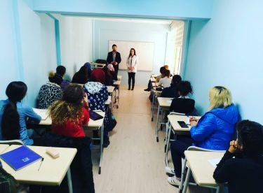 TÜGVA Eskişehir, yabancılara Türkçe eğitim veriyor