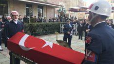 Şehit Kaya'nın cenazesi Reşadiye Camii'ne getirildi