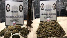 Eskişehir'de uyuşturucu operasyonu, 10 gözaltı