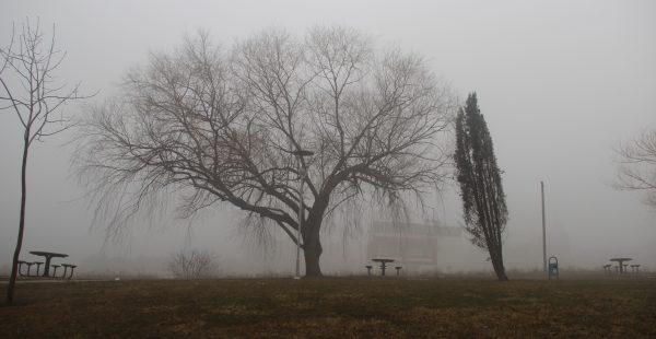 Eskişehir sise büründü