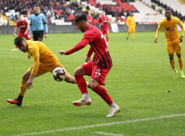 Spor Toto 1. Lig: Gazişehir Gaziantep: 1 – Eskişehirspor: 1