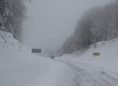 Domaniç'te kar yağışı, sis ve buzlanma
