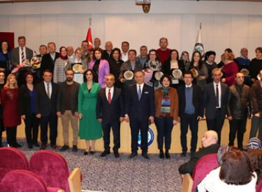 ESOGÜ Hastanesi'nde emeklilik töreni düzenlendi