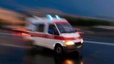 Eskişehir'de trafik kazası!