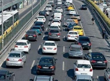 Eskişehir'deki trafiğe kayıtlı araç sayısı azaldı