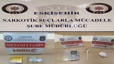Eskişehir polisinin uyuşturucu ile mücadelesi devam ediyor