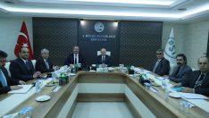 Vali Çakacak DSİ 3. Bölge Müdürlüğünü ziyaret etti