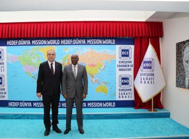 Eskişehir ile Cibuti arasında sanayi köprüleri kuruluyor