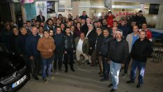 Kazım Kurt 71 Evler'de vatandaşlarla buluştu