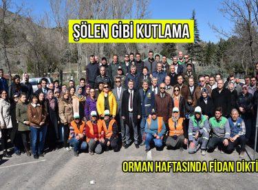 HEP BİRLİKTE FİDAN DİKTİLER