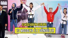 Gençler Eskişehir'i Gururlandırdı