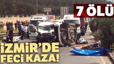 İzmir Buca'da feci kaza! 7 ölü