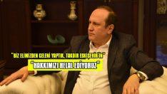 """""""HAKKIMIZI HELAL EDİYORUZ"""""""