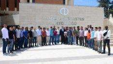 Yabancı uyruklu öğrencilerden ziyaret…