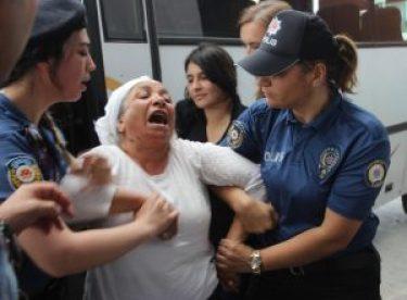 Eskişehir'de izinsiz gösteri yapan şahıslara gözaltı