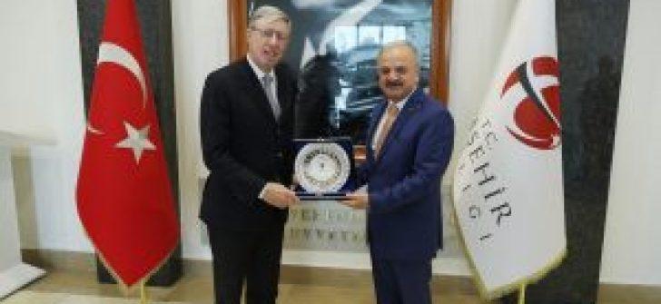 Büyükelçi Gaiani Eskişehir'de