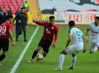 Eskişehirspor'un yıldızından transfer açıklaması