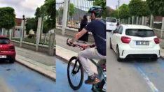 Bisiklet yolları işgal altında