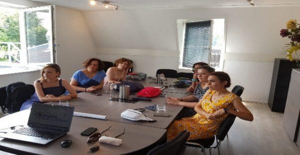 Mehmet Gedik Ortaokulu İngilizce öğretmenleri Hollanda'da eğitim aldı