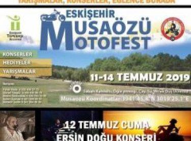 Motosiklet tutkunları Musaözünde buluşuyor