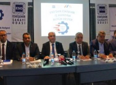 Sanayicilere 11 milyon TL destek paketi