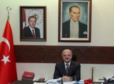 """Vali Çakacak'ın """"24 Temmuz Gazeteciler ve Basın Bayramı"""" kutlama mesajı"""
