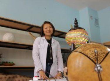 Kazak gelinin hobisi gerçek işi oldu