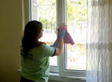 İhtiyaç sahibi vatandaşların evlerinde bayram temizliği, bakım ve onarım çalışması