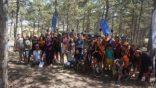 Eskişehir'de genç bisikletçiler kıyasıya yarıştı