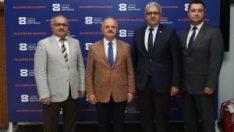 Vali Çakacak, Eskişehir Organize Sanayi Bölge Müdürlüğü'nü ziyaret etti