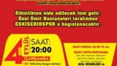Eskişehirspor Marşları konserine büyük ilgi