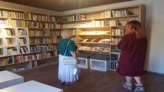 Odunpazarı Belediyesi tarafından açılışı yapılan Behramoğlu Kitaplığına büyük ilgi