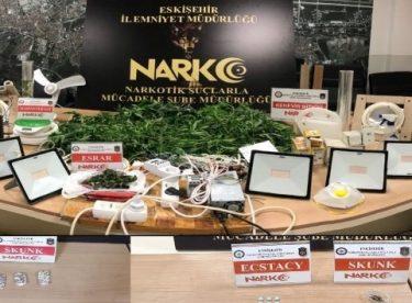 Uyuşturucu ticareti yapan zanlılara operasyon