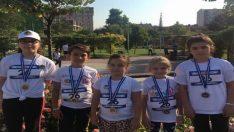 Kanseri yenen çocuklar maratona katıldı