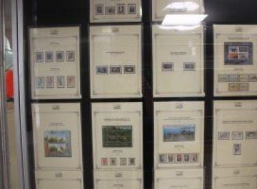 Eskişehir'in 97. kurtuluş yıldönümüne özel pul koleksiyonu sergisi