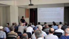 Çiftçilere yönelik bilgilendirme toplantıları