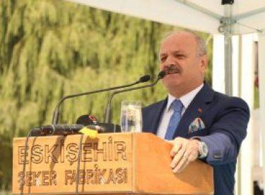 Eskişehir'de 87'nci pancar alım dönemi başladı
