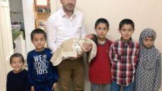 Göç İdaresi Müdürlüğü'nden 'Abdullah' bebeğe ziyaret