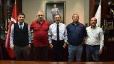 Döğerliler Derneğinden Başkan Ataç'a ziyaret