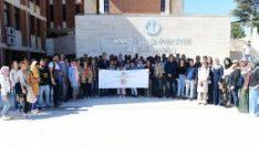 Anadolu Tömer öğrencileri kampüsü gezdi