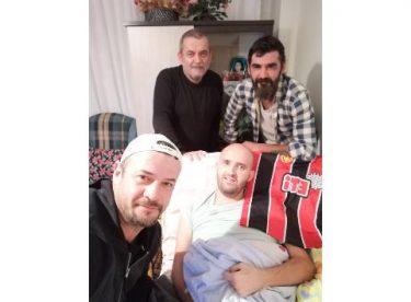 Hakan Olgun'dan duygusal ziyaret