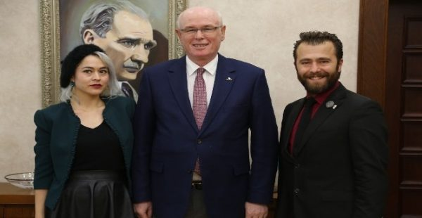 Kent ve Çevre Hukuku Komisyonu Başkan Kurt'u ziyaret etti