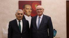 CHP Ankara Milletvekili Nihat Yeşil'den Kazım Kurt'a ziyaret